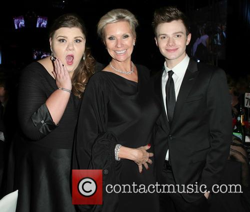 Ashley Fink and Chris Colfer 1