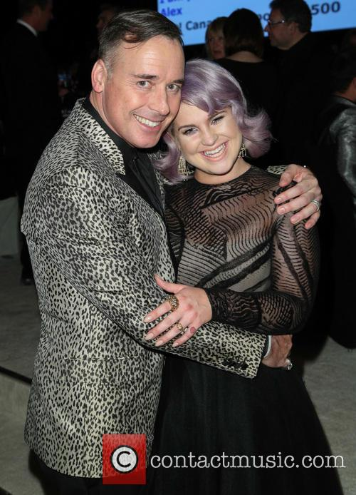 David Furnish and Kelly Osbourne 1
