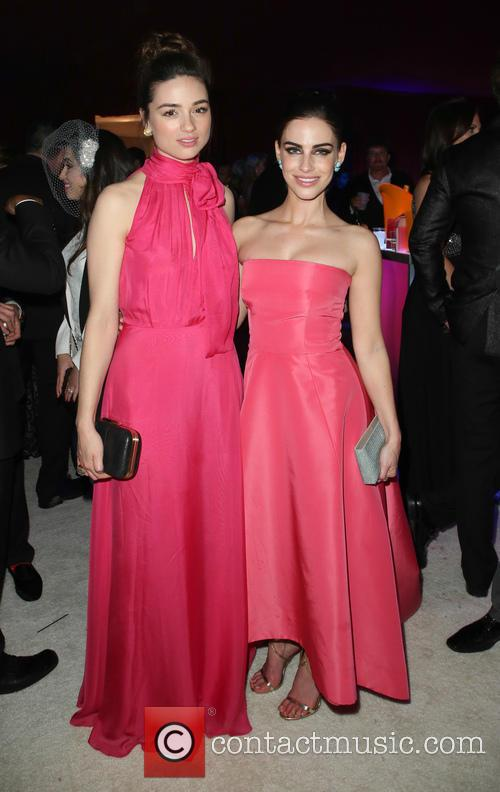 Crystal Reed and Jessica Lowndes 2