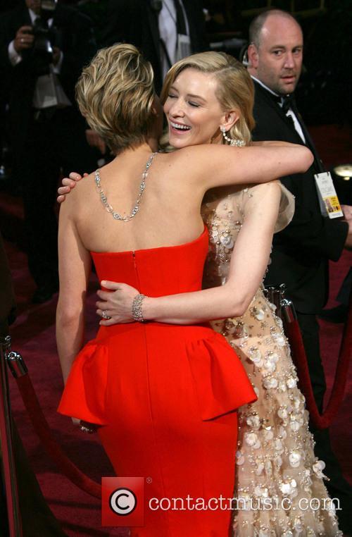 Jennifer Lawrence and Cate Blanchett 2