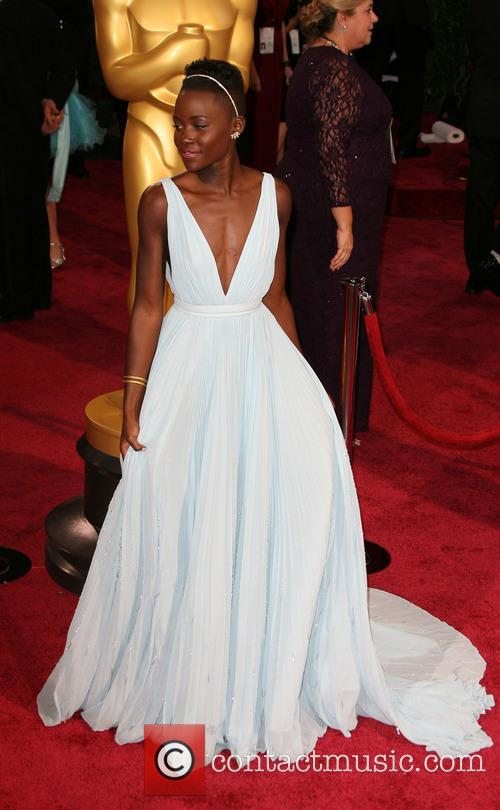 Lupita Nyong'o, Oscars Red Carpet