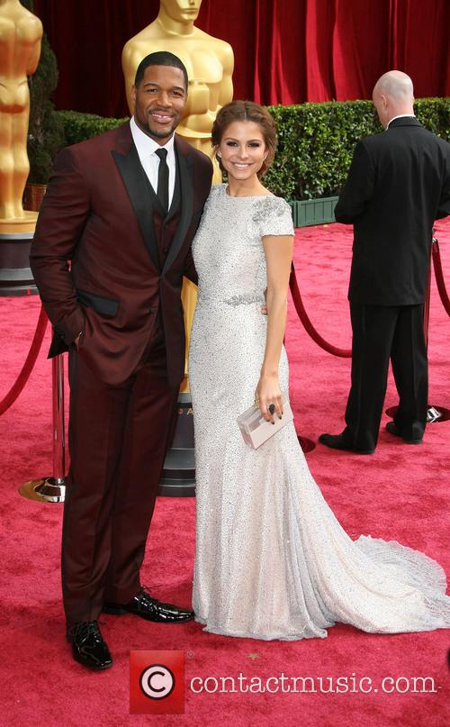 maria menounos michael strahan the 86th annual oscars 4092672