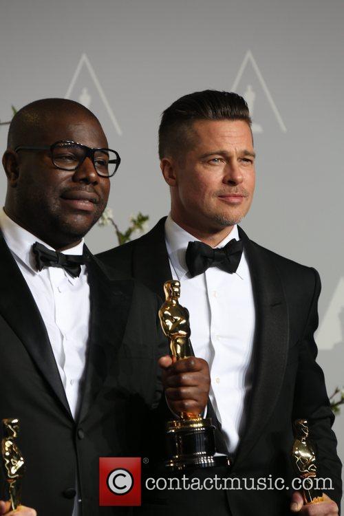 Steve McQueen, Brad Pitt, Oscars 2014