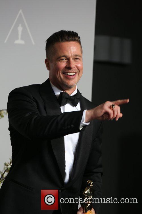 Brad Pitt, Oscars 2015