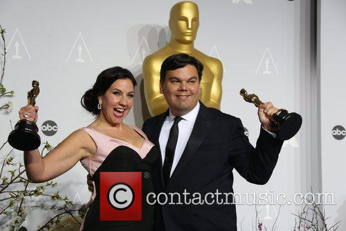 Kristen Anderson-Lopez and Robert Lopez 2