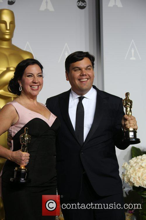 The Lopez Duo Celebrate Oscar Win