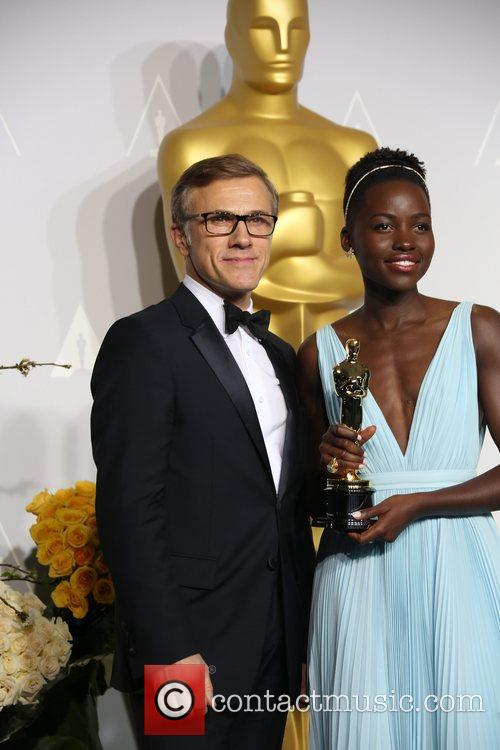 Lupita Nyong'o and Christoph Waltz 6