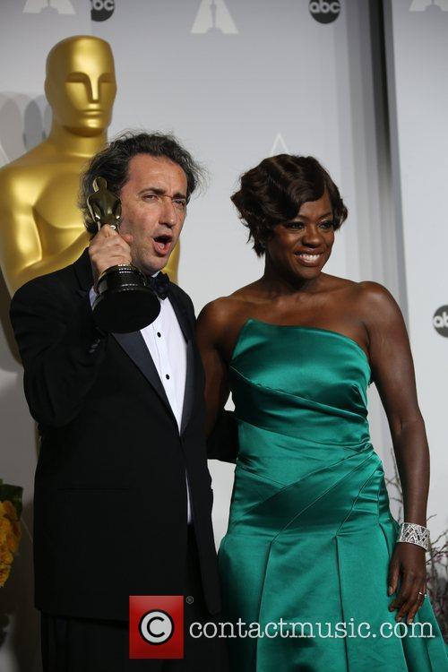 Viola Davis and Director Paolo Sorrentino 2