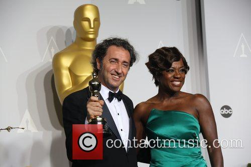 Viola Davis and Director Paolo Sorrentino 1