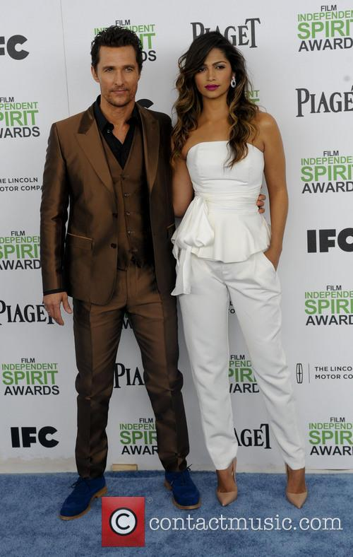 Matthew McConaughey, Camila Alves, Independent Spirit Awards