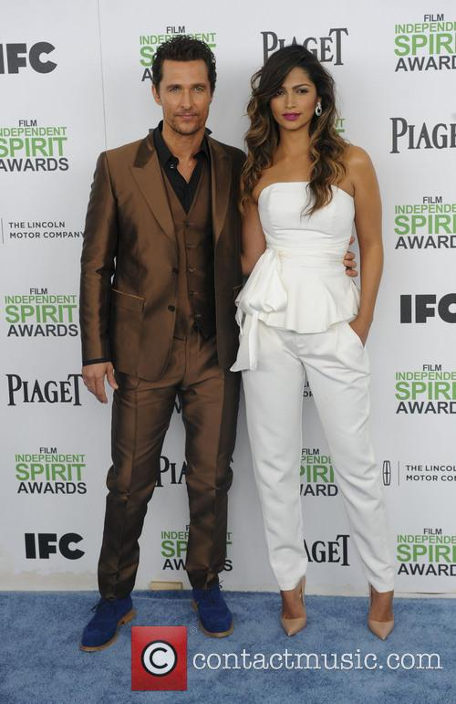 Matthew McConaughey, Camila Alves, Independent Spirit