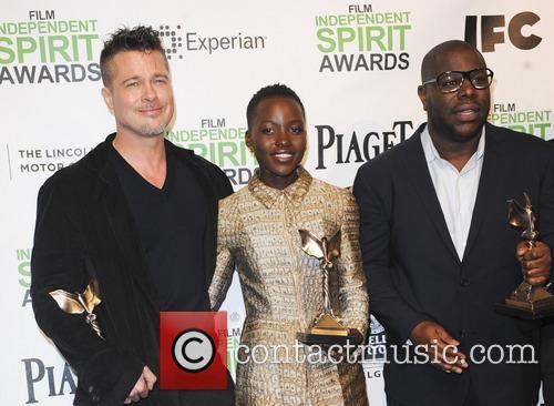Brad Pitt, Lupita Nyong'o and Steve Mcqueen 7