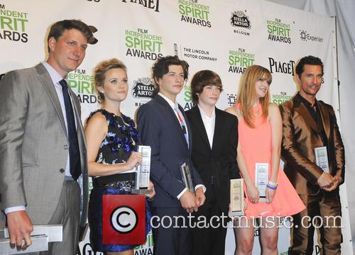 Reese Witherspoon, Tye Sheridan, Jacob Lofland, Bonnie Sturdivant and Matthew Mcconaughey 2