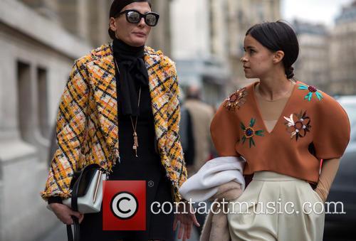 Giovanna Battaglia and Miroslava Duma 5