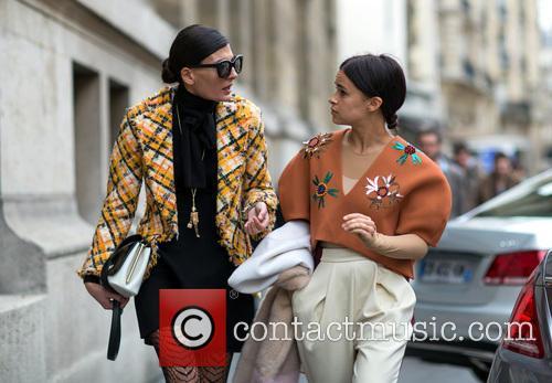 Giovanna Battaglia and Miroslava Duma 6