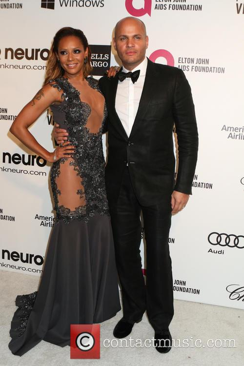 Melanie Brown and Stephen Belafonte 4