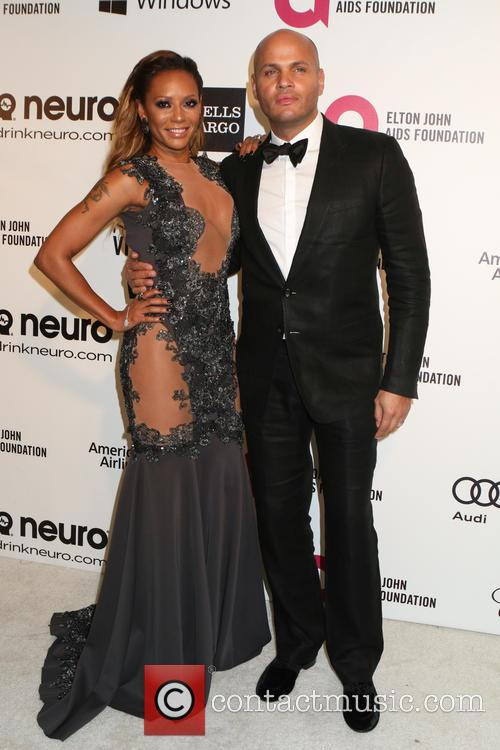 Melanie Brown and Stephen Belafonte 1