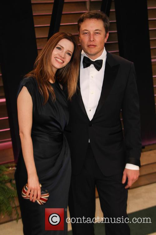 Elon Musk and Talulah Riley 1