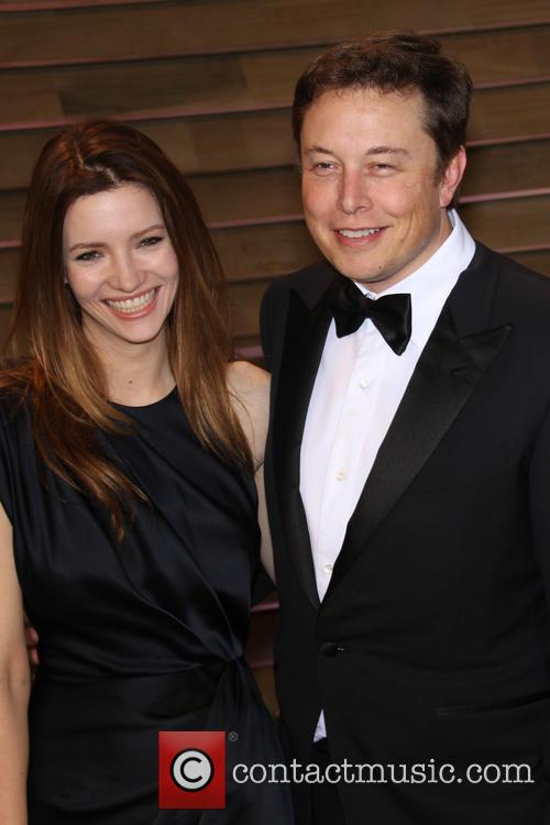 Elon Musk and Talulah Riley 2