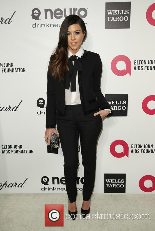 kourtney kardashian 22nd annual elton john aids 4094728
