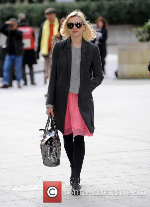 Fearne Cotton at Radio 1