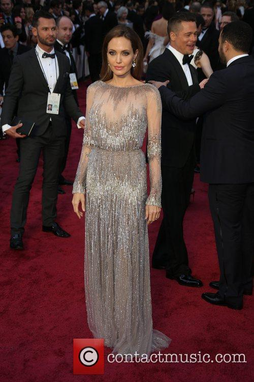 Dazzling Angelina Jolie