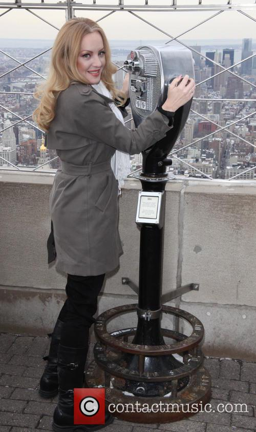 Empire State Building hosts Wendi McLendon-Covey