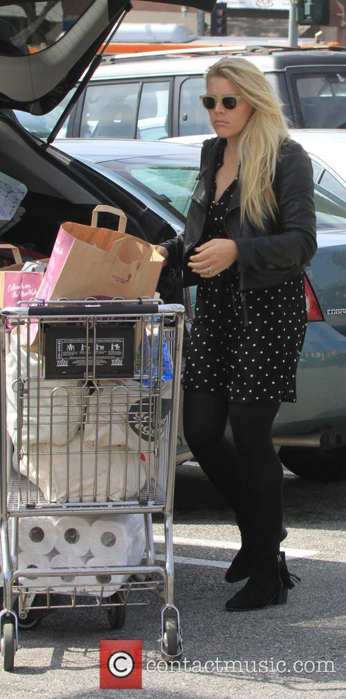 Busy Philipps Shopping At Whole Foods