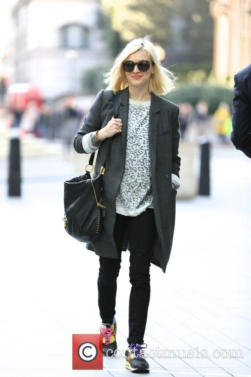 Fearne Cotton arrives at BBC Radio 1 studios