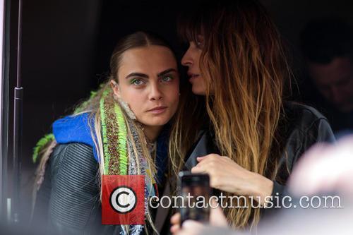 Cara Delevingne and Caroline De Maigret 3