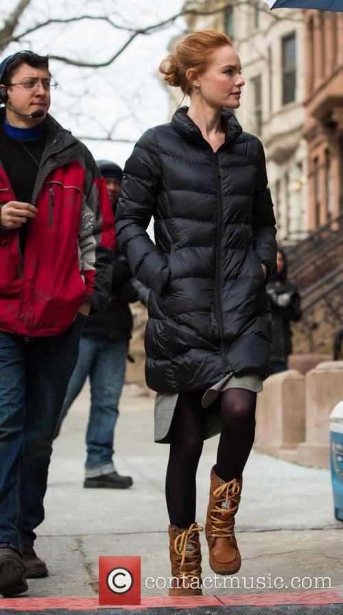Kate Bosworth on the set of 'Still Alice'