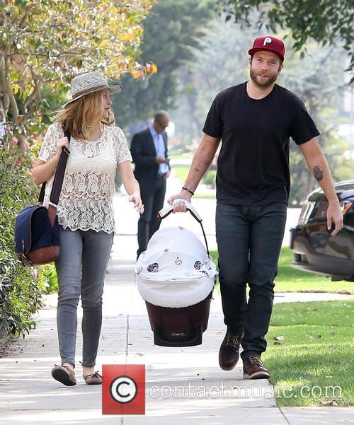 Teresa Palmer, Mark Webber and Bodhi Palmer 4