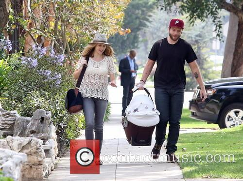 Teresa Palmer, Mark Webber and Bodhi Palmer 10