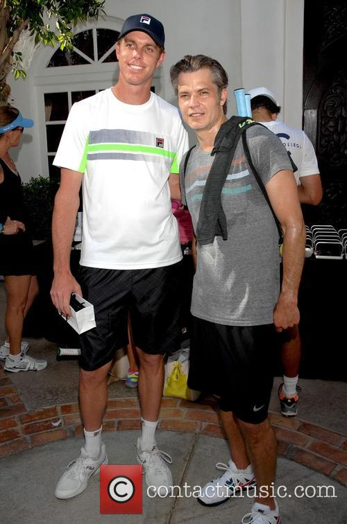 Timothy Olyphant and Sam Querrey 3
