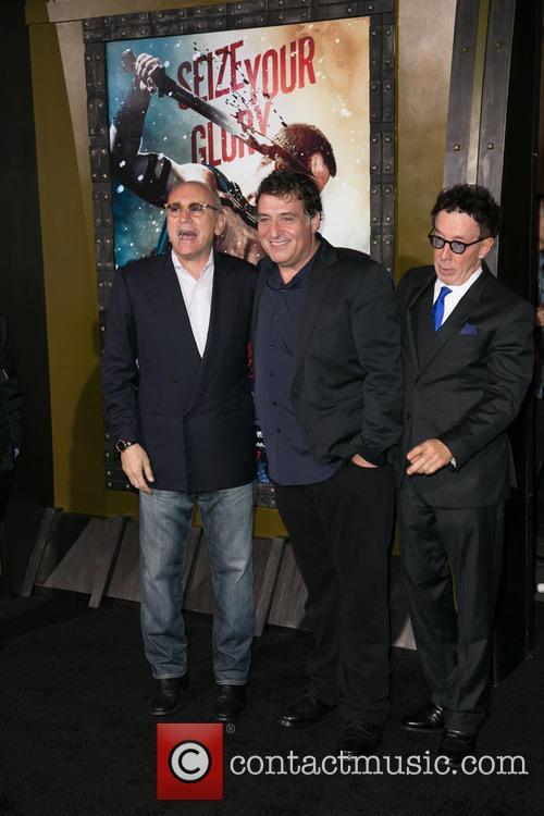 Gianni Nunnari, Noam Murro and Mark Canton 3