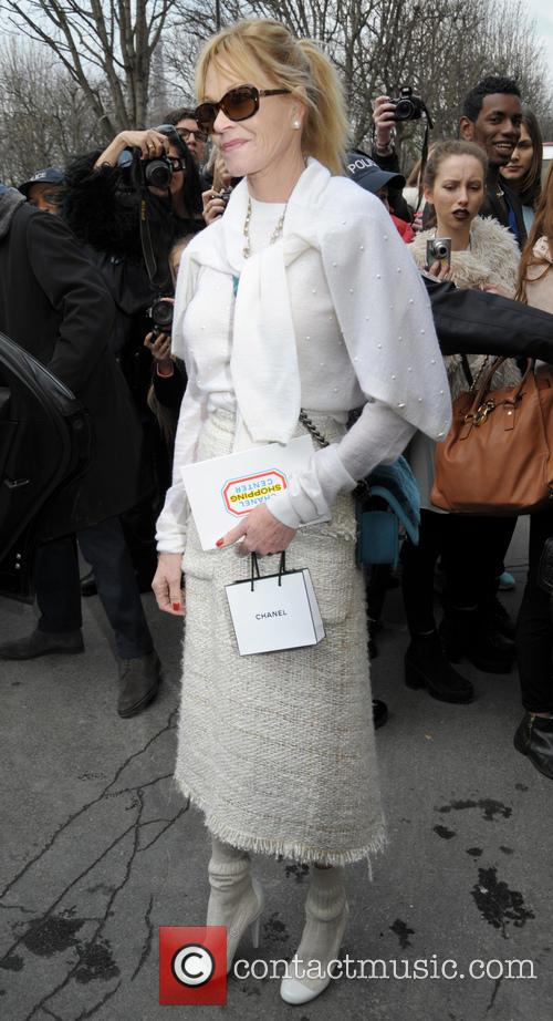 melanie griffith celebrities at the chanel fashion 4096975