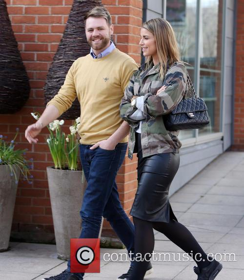 Brian McFadden and wife Vogue 2