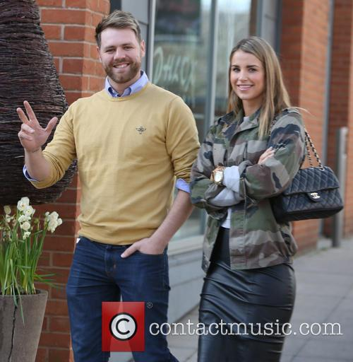 Brian McFadden and wife Vogue 3