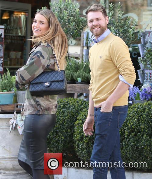 Brian McFadden and wife Vogue 1