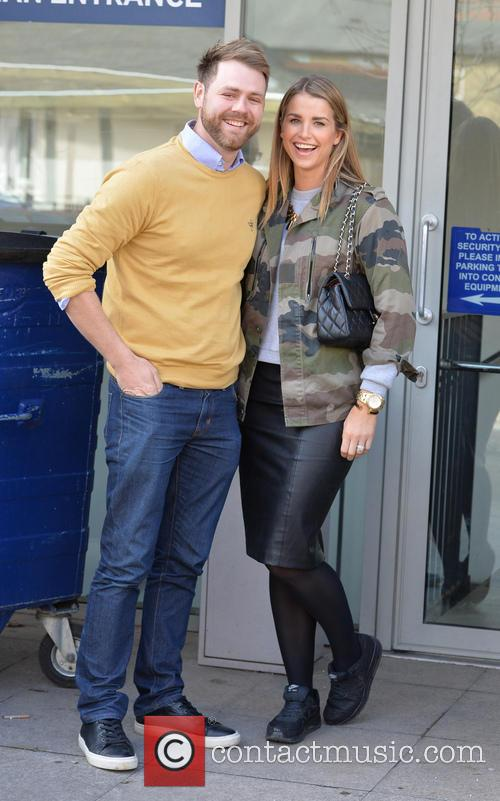 Brian McFadden and wife Vogue 5