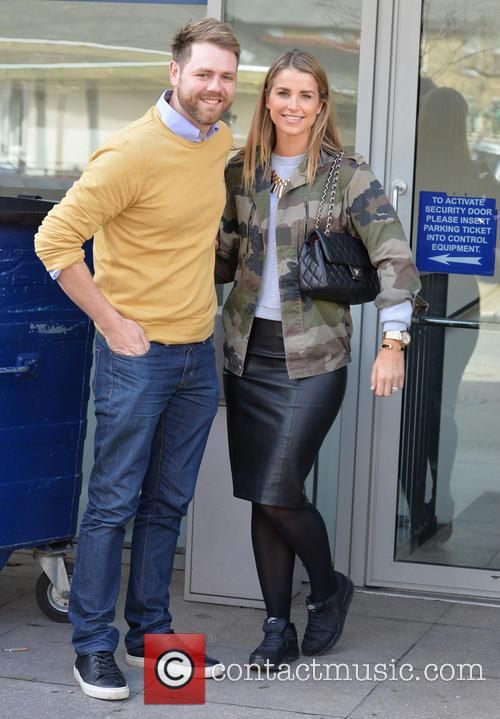 Brian McFadden and wife Vogue 6