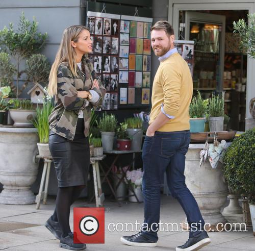 Brian McFadden and wife Vogue 7