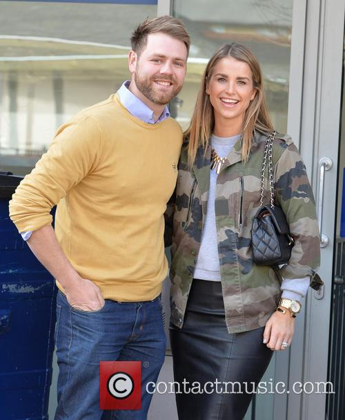 Brian McFadden and wife Vogue 8
