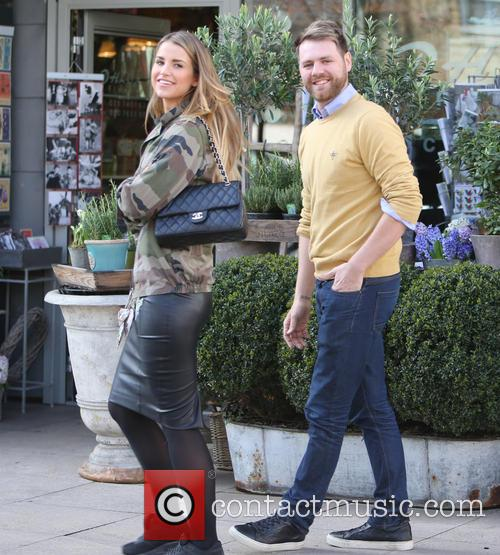 Brian McFadden and wife Vogue 9