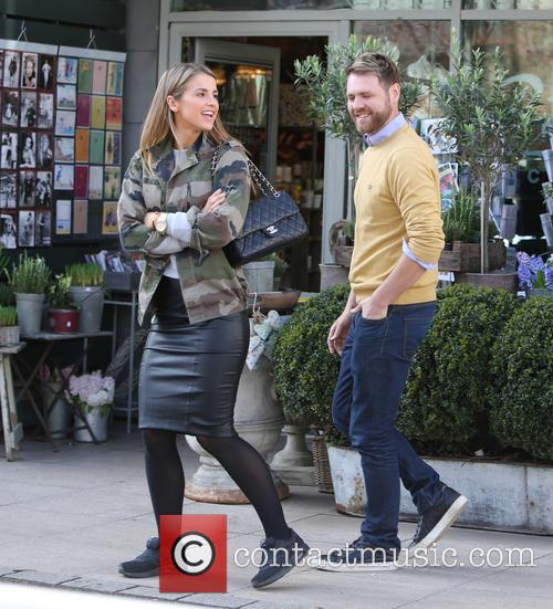 Brian McFadden and wife Vogue 10