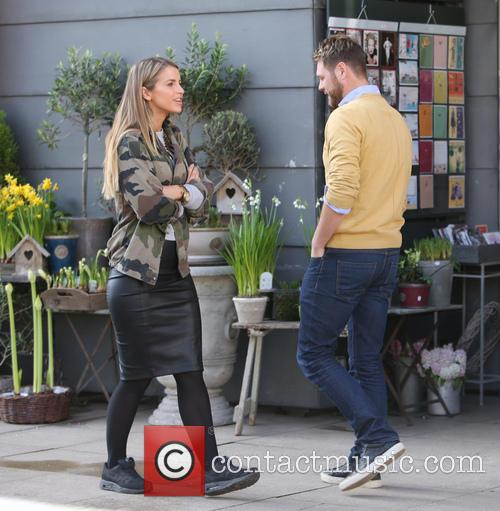 Brian McFadden and wife Vogue 11