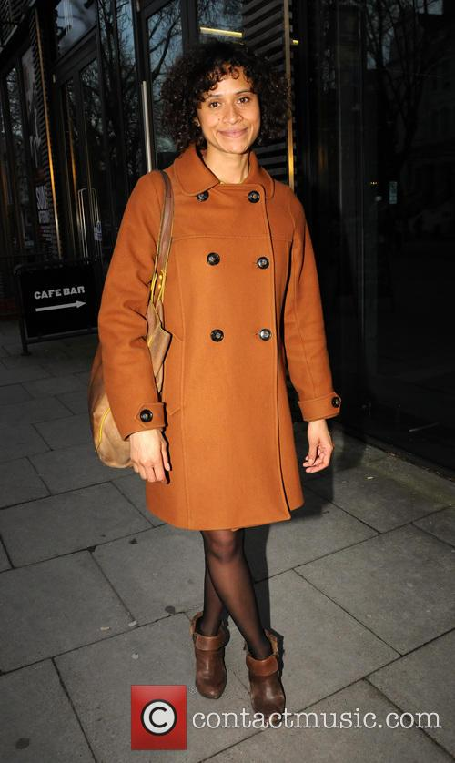 angel coulby celebrities outside hampstead theatre 4098627
