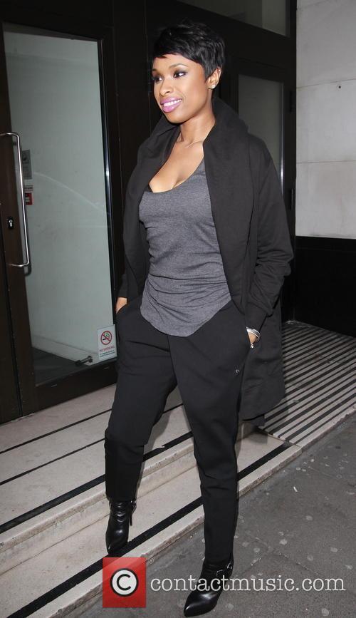Jennifer Hudson arrives at Album Playback Sony
