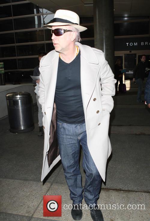 Nicolas Cage at LAX