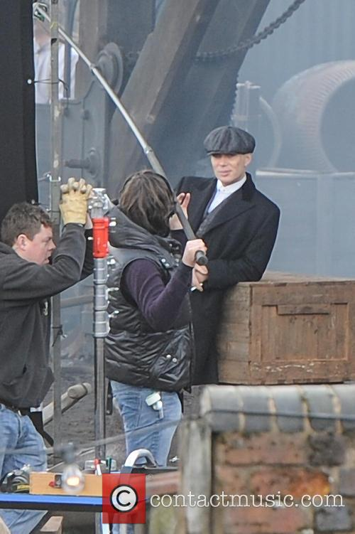 Filming takes place for the second series of...